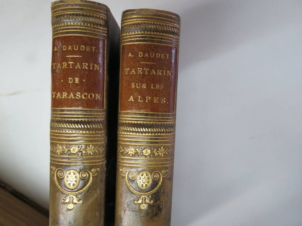 DAUDET. TARTARIN DE TARASCON- TARTARIN SUR LES ALPES, Livres rares (1ère édition, livres illustrés, tirages limités), Livres | Puces Privées